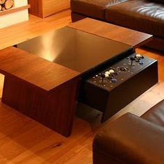 Arcade coffee table