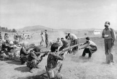 """The Pulitzer winning photograph of """"Firing squad in Iran"""" of the Iranian revolution by Iranian photographer Jahangir Razmi is of great attraction to me firstly because of its unrefined depiction, which is supposedly true for all Pulitzer winners. Execution By Firing Squad, Revolution, Historia Universal, New Romantics, War Photography, Iconic Photos, Freundlich, Historical Photos, Photo Galleries"""