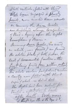 Abraham Lincoln Autopsy Notes Reveal The Horror Of An Assassin's Gunshot