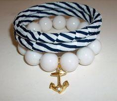 Trio de pulseiras estilo Navy R$28,00
