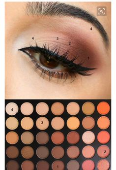#makeupeyeshadows