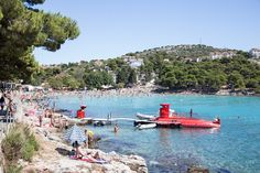 Slanica Beach, Murter Island, Croatia.