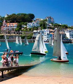 #Sailing #regatta in the UK (#Devon)