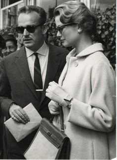 Rainier and Grace in Stockholm, 1957