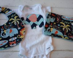 Popular items for applique onesie on Etsy