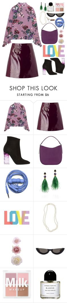 """Lavan-Dear"" by finding-0riginality ❤ liked on Polyvore featuring Erdem, Miss Selfridge, Nicholas Kirkwood, Urbanears, Lizzie Fortunato, Native State, Nordstrom, Accessorize, PAWAKA and Byredo"