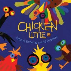 October 8, 2014. A retelling of the classic story of Chicken Little, who has an acorn fall on his head and runs in a panic to his friends Henny Penny, Lucky Ducky, and Loosey Goosey, to tell them the sky is falling.