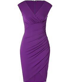 love, love everything about this dress #purple