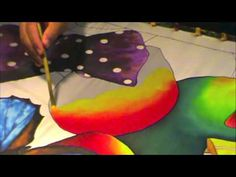 HOW TO PAINT ON SILK WITH JEAN-BAPTISTE - Le Noeud Papillon, PT 3 - YouTube