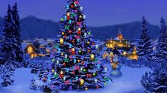 Christmas Tree Nature Wallpaper. Share the Christmas love and traditions. Decorate your desktop backgrounds with Christmas Wallpapers.