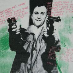 This vintage t-shirt IS talking to you. #taxidriver #deniro #scorsese