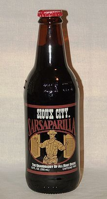 I had this for the first time tonight with my burger...it was yummy!  Sioux City sarsaparilla - Wikipedia, the free encyclopedia