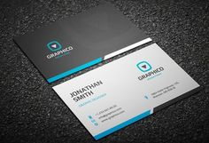 Corporate Letterhead Vol With MS Word DOCDOCX Word Doc - Business card template word doc