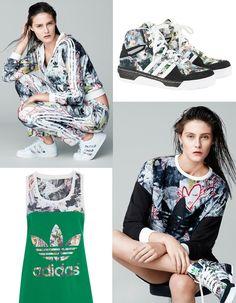 Active Sportswear Print & Pattern [Special Report] | PatternbankAdidas Originals for  Topshop