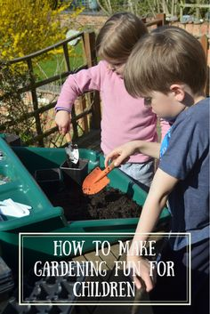 Involving children in gardening is rewarding for all taking part, but it can be daunting trying to make it fun. Here are my top tips for getting it right.