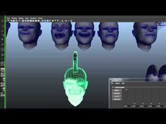Blendshapes in Maya - He explains how to connect blend shape heads to the main head and how to edit the blend shapes without losing that connection. He also builds both a NURBS controller and a cluster controller to animate them. -- 23:04