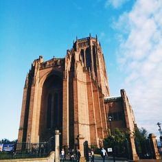 Still totally hung over from Liverpool. It had the best vibes, the nicest people, and the best music scene ever! I love the Mersey! Thank you for such a wonderful time. :') This is the Liverpool Cathedral. The second largest Cathedral in the world.