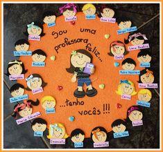 Bonita idea Kids And Parenting, Classroom Board, Bulletin Boards, Classroom Decor, Sunday School, Art School, Activities For Kids, Crafts For Kids, Class Decoration