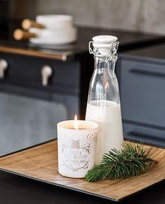 Ça sent Noël avec les bougies la française ★☆ Concours ☆★ Glass Of Milk, House Design, Honey, Everything, Candles, Fir Tree, Architecture Design, House Plans, Home Design