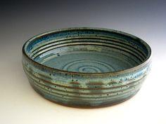 Pretty baking dish. Love handmade pottery :)