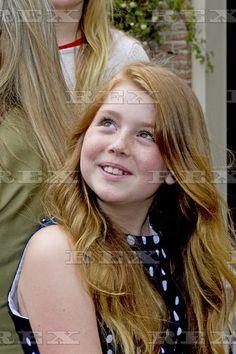 Dutch Royal family photocall, Eikenhorst in Wassenaar, The Netherlands - 08 Jul 2016 Princess Alexia