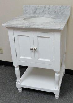 westwood single 2431inch usa made plantation style bathroom vanity w