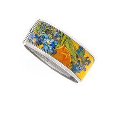 Van Gogh Silvertone Almond Blossom Tear Pendant