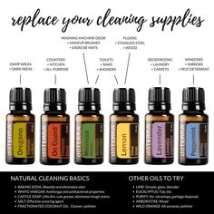 Helping people create a healthy, more balanced life with doTerra essential oils. List Of Essential Oils, Essential Oils Cleaning, Essential Oil Uses, Cleaning Spray, Green Cleaning, Floor Cleaning, Cleaning Hacks, How To Wash Makeup Brushes, Doterra Peppermint