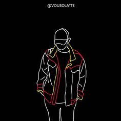 Brenda, Exo Chanyeol, Style Clothes, Fanart, Aesthetics, Kpop, Fashion Outfits, Black, Bags