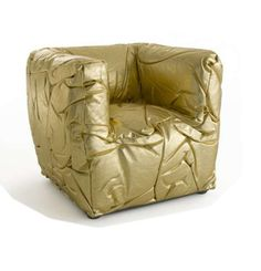 Peter Traag Designs a Radiant Chair with a Membrane-Like Material #seating trendhunter.com