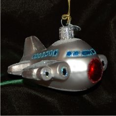 Airplane - Personalized Family Christmas Ornament