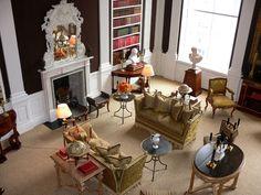 Carolyne Roehm Weatherstone | ... My Homework - The living room at Weatherstone, Carolyne Roehm's