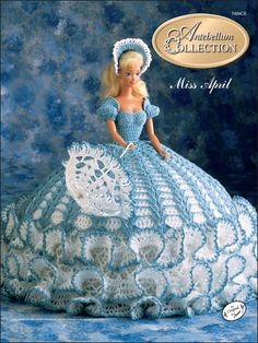 Crochet - Dolls & Toys - Bed Doll Patterns - The Antebellum Collection Miss April 1991