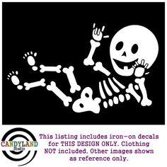 Baby Skeleton - ASL I Love You