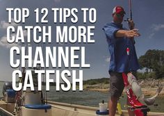 Top 12 Channel Catfish Tips: Start catching more channel catfish right now with these tips!
