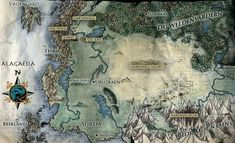 The land of Alagaësia in Inheritance series by Christopher Paolini