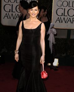Catherine Zeta-Jones in Cobblestones collection at the 2004 Golden Globes