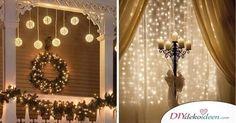 Mit diesen bezauberndenWeihnachtsdeko Ideen mit Lichterketten erstrahlt dein Heim zu Weihnachten in vollem Glanz!  Was wäre Weihnachten ohne Lichterketten?