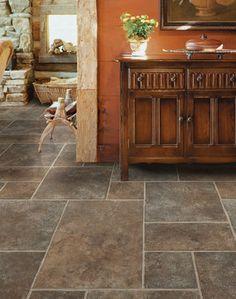 Shaw Twin Falls Resilient Flooring Vinyl Tiles Kitchen