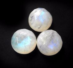 Irregular Shape Natural Rainbow Moonstone Slice Cut Loose Gemstone ...