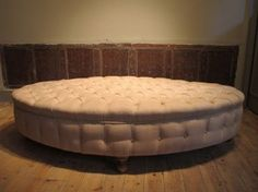 Oval Coffee Table Into Ottoman. Leather ...