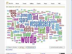 Wordle på www.wordle.net är ett verktyg som snabbt blivit oerhört populärt. Visste du att det är hur lätt som helst att bygga en gemensam ba...