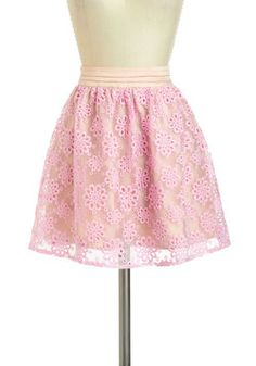 Piece of the Pizzelle Skirt, $59.99, #ModCloth