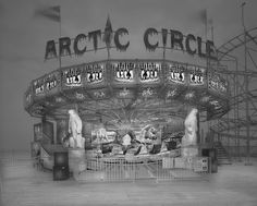 Arctic Circle. Black and White Photographs - Funfair and Pinball Machine. To see more art and information about Michael Massaia click the image.