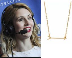 Actress Alona Tal is rocking Stella & Dot at Comic-Con International! We love the On the Mark Necklace on her <3