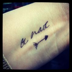 be brave tattoo - Google zoeken
