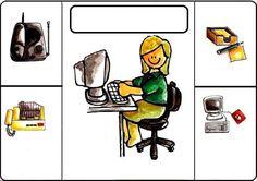 Preschool Worksheets, Kindergarten Activities, Activities For Kids, Crafts For Kids, Greek Language, Speech And Language, Learn Greek, Community Helpers, Primary School
