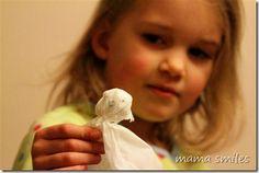 Classic Halloween Craft: Kleenex Ghosts