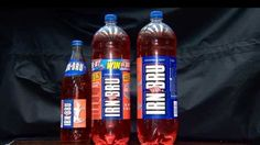 Glass Irn Bru bottles have become less common in recent years