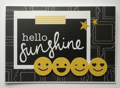 Kaisercraft Shine Bright card